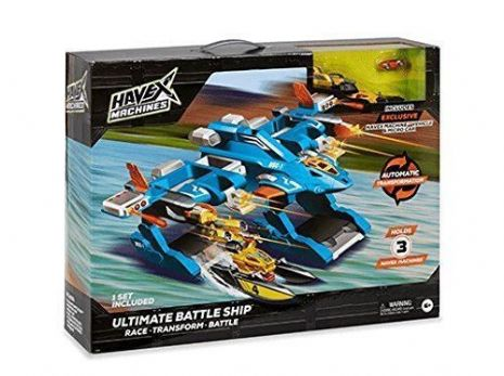 Havex Machines - ULTIMATE BATTLESHIP & Excl Vehicle & Micro Car